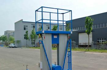 导轨式升降简易货梯的用途和特点